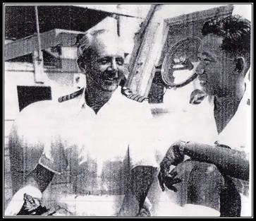 Burma's Navy Captain Lyle and KT Lwin